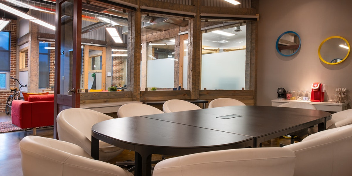 Photo of CO Workspace Main Conference Room