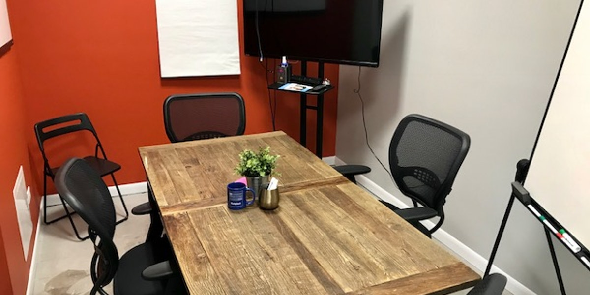 Photo of Conference Room #1 - Orange Room - 4-6 People