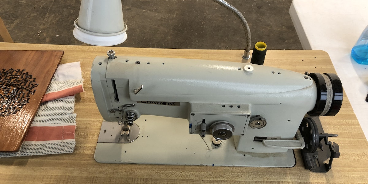 Photo of Industrial Sewing Machine