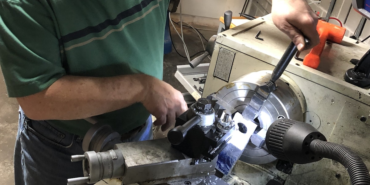 Photo of 14X40 Grizzly Lathe