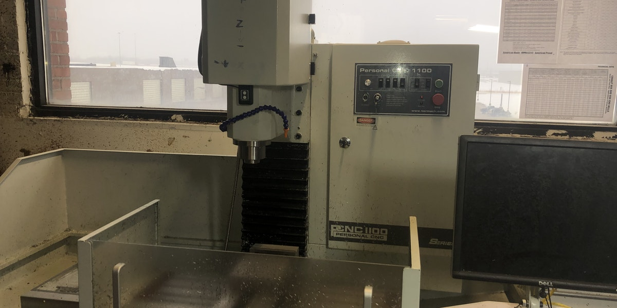 Photo of Tormach CNC Mill