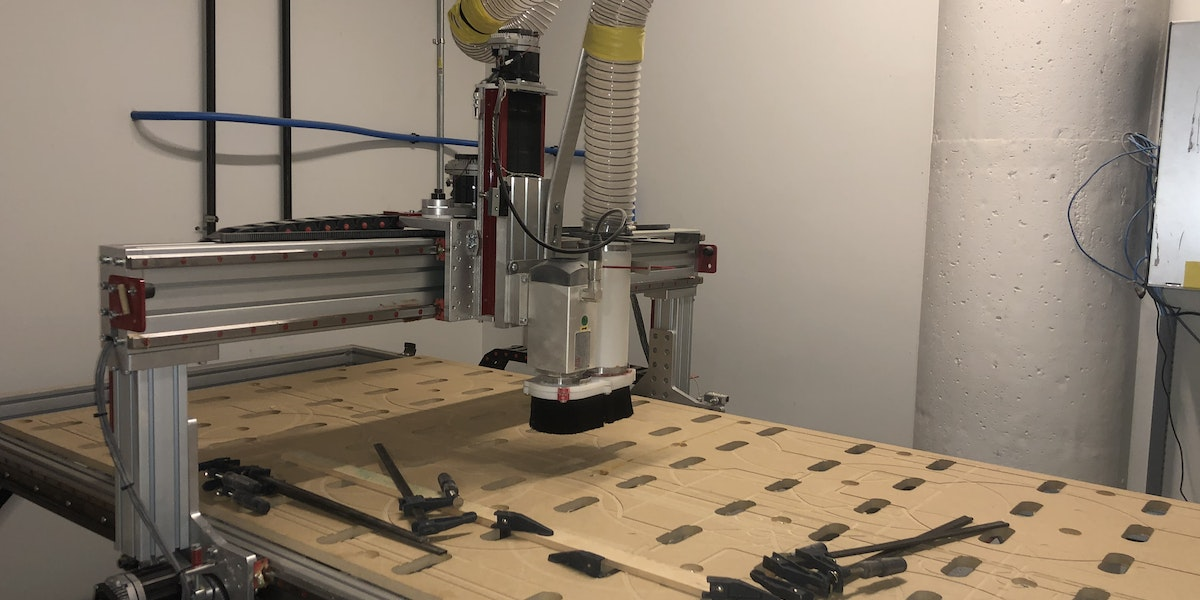 Photo of 8X4' CNC Router