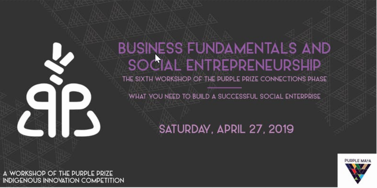 Business Fundamentals and Social Entrepreneurship | Events