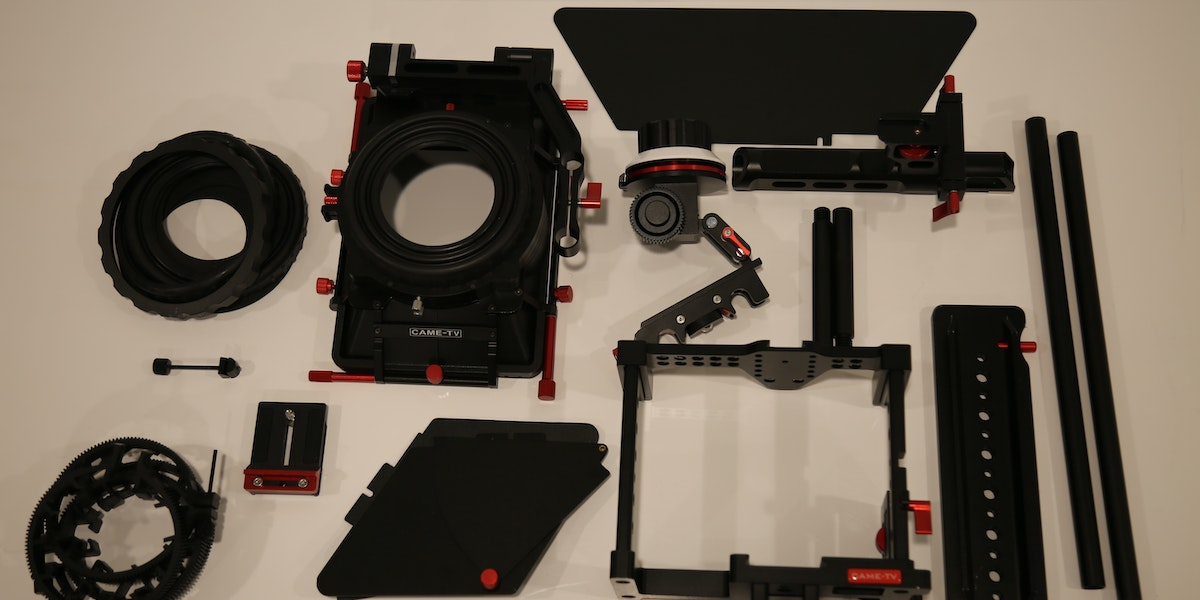 Photo of Endner StoryLab CAME - TV Cage camera cage kit for Canon 5D
