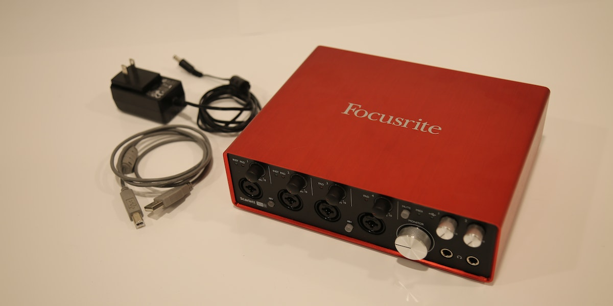 Photo of Endner StoryLab Audio - Focusrite - Scarlett 4 channel interface