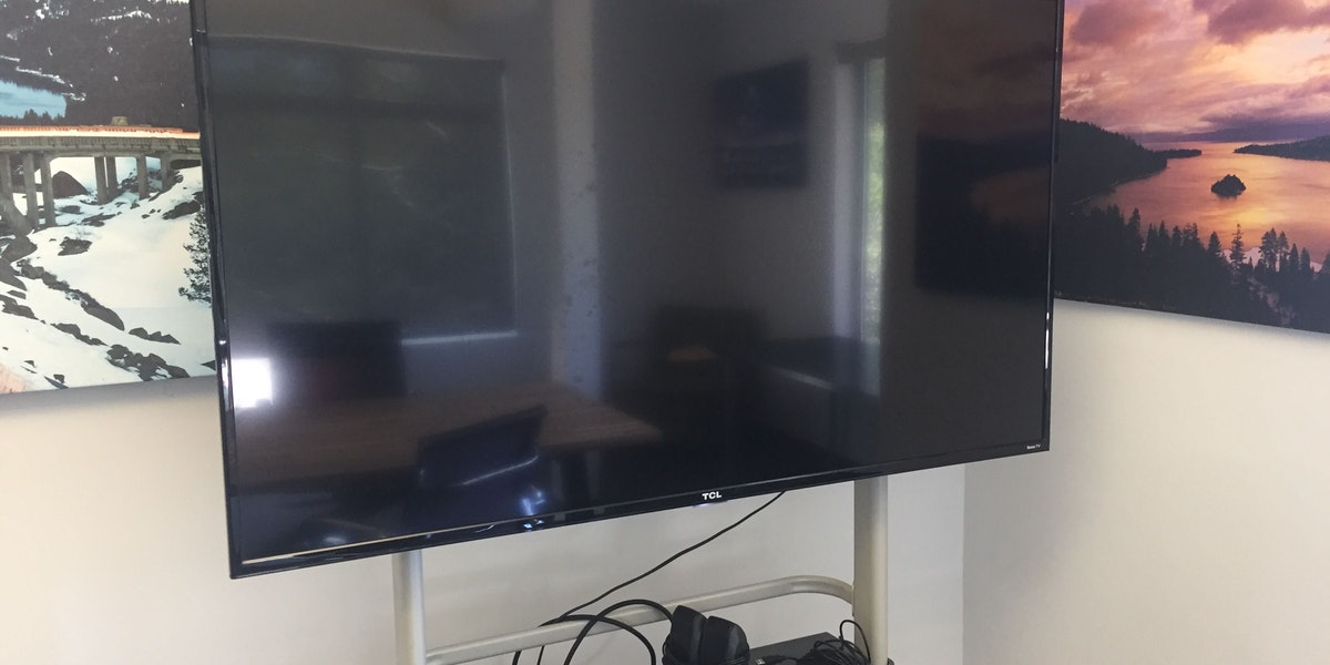 Photo of Large Monitor