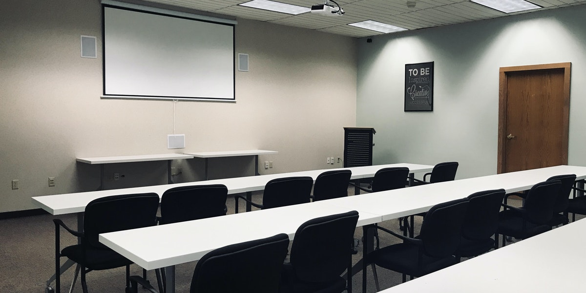 Photo of Training Room Full