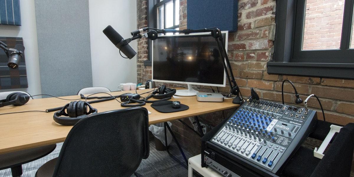 Photo of Shine Insurance Podcast Studio