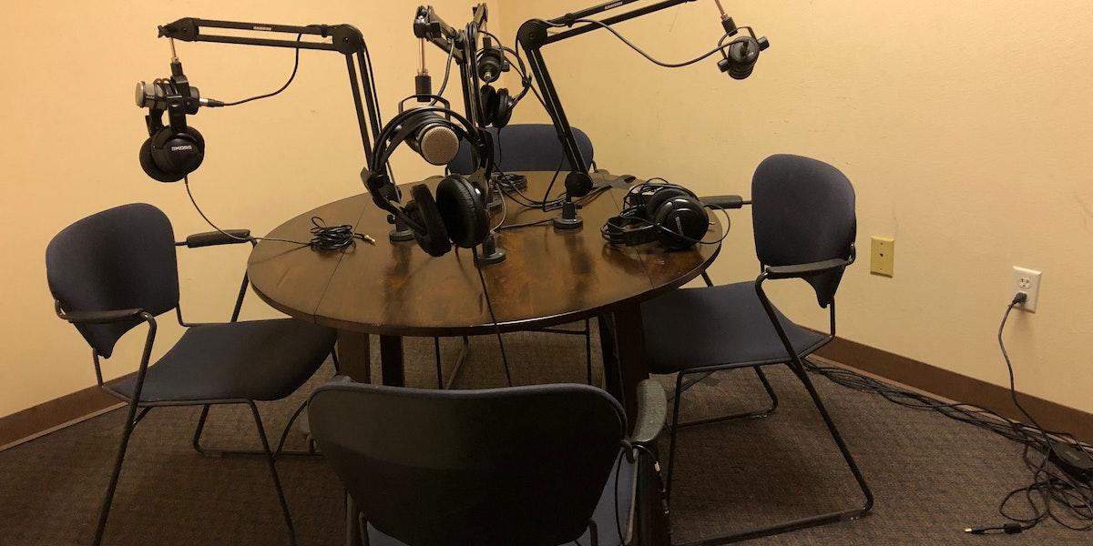 Photo of Podcast Studio #1