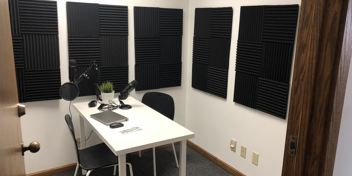 Photo of Hourly Reservable Private Office/Podcast Studio