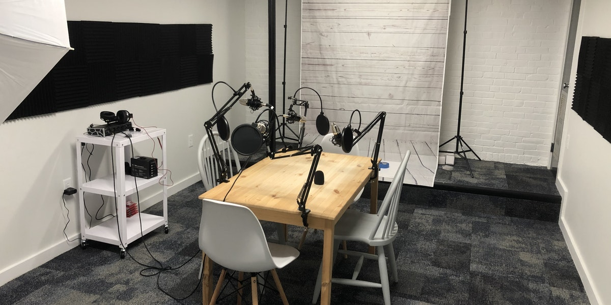 Photo of Podcasting/ Video Recording Room