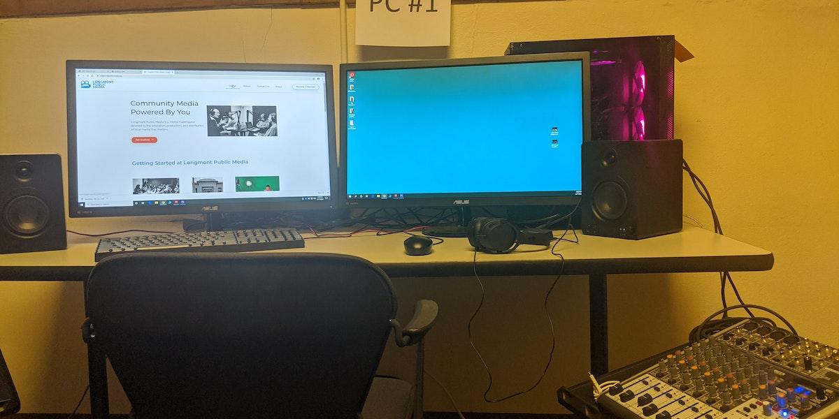 Photo of PC Editing Computer #1 - AMD Ryzen 3900x