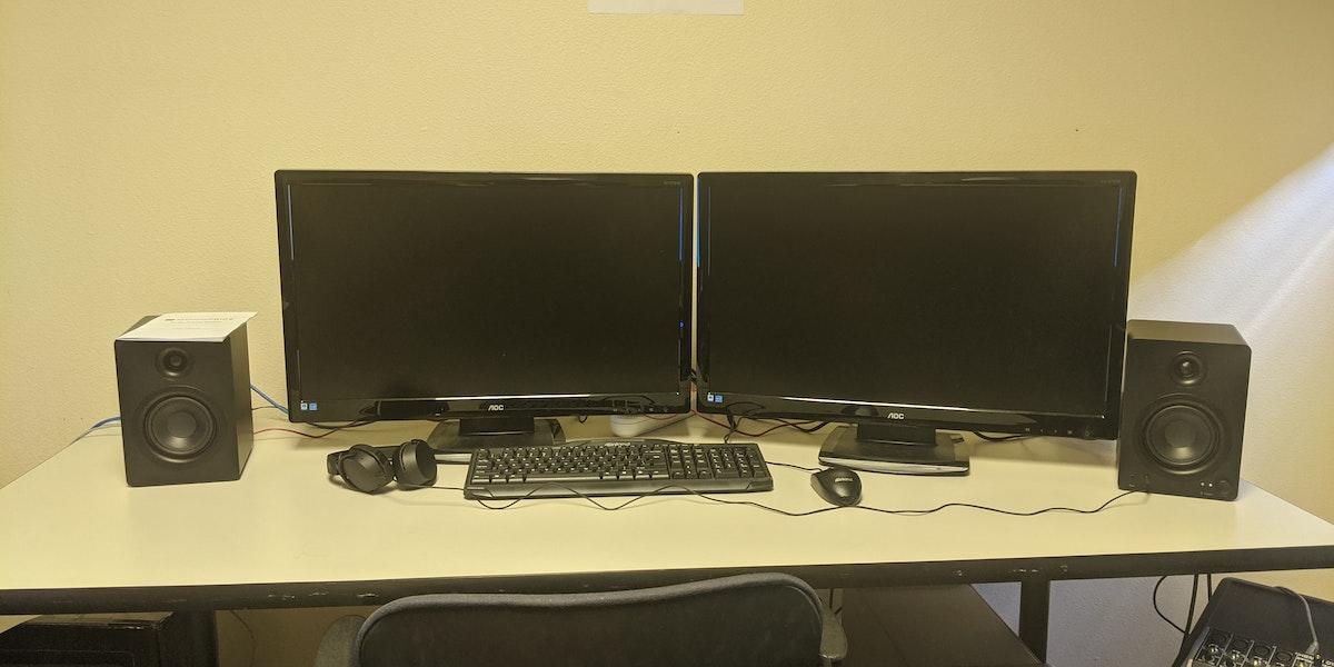 Photo of Mac Editing Computer