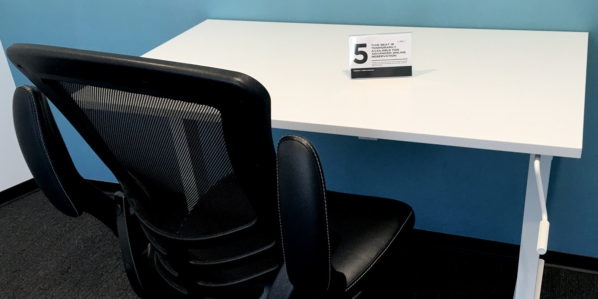 Photo of Hot Desk 5 [Located in the Think Tank]