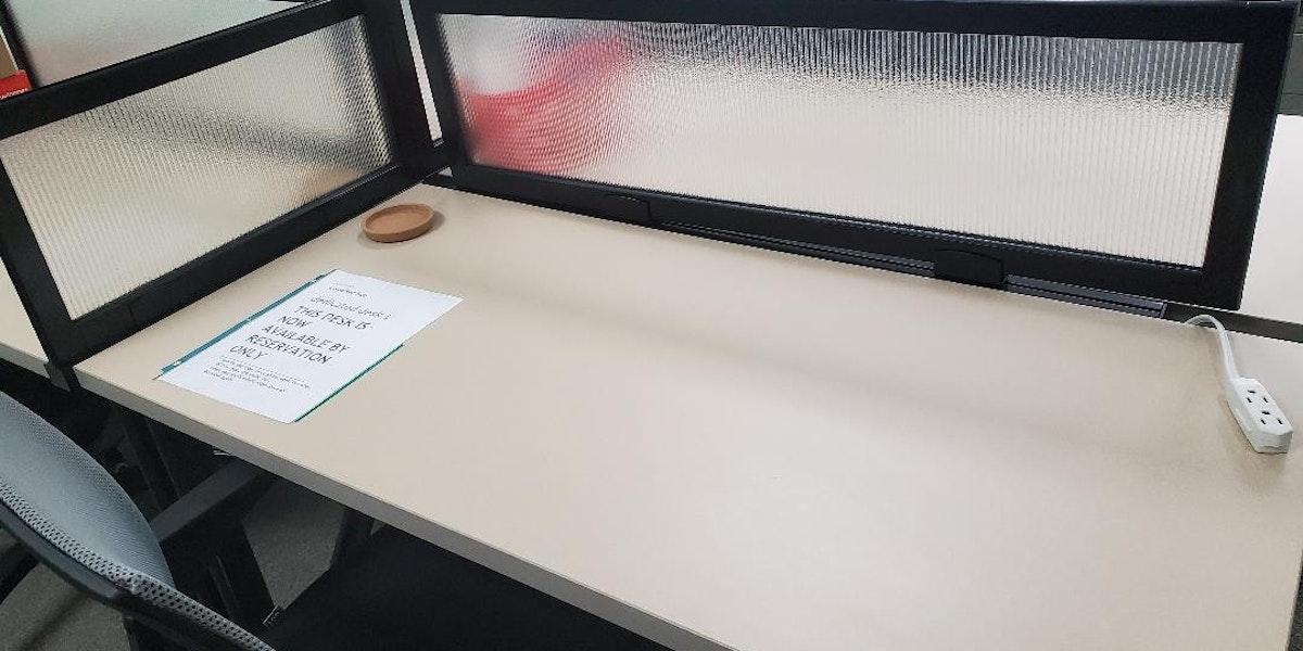 Photo of Middlebury Dedicated Desk 1