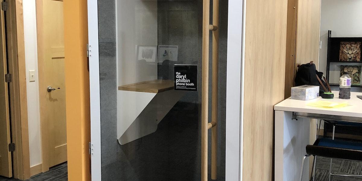 Photo of (1) Daryl Philbin Phone Booth