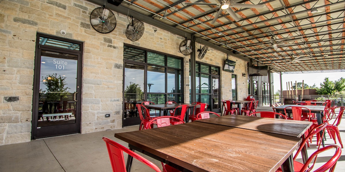 Photo of Patio Event Space • Day Time Reservations