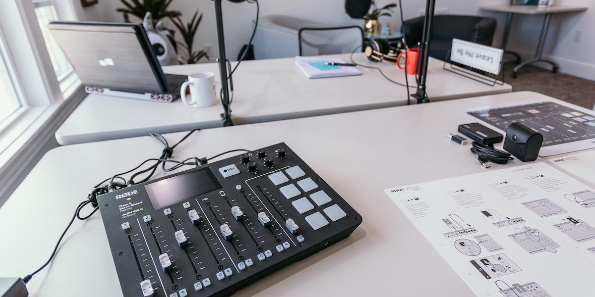 Photo of Podcast & Video Recording Studio