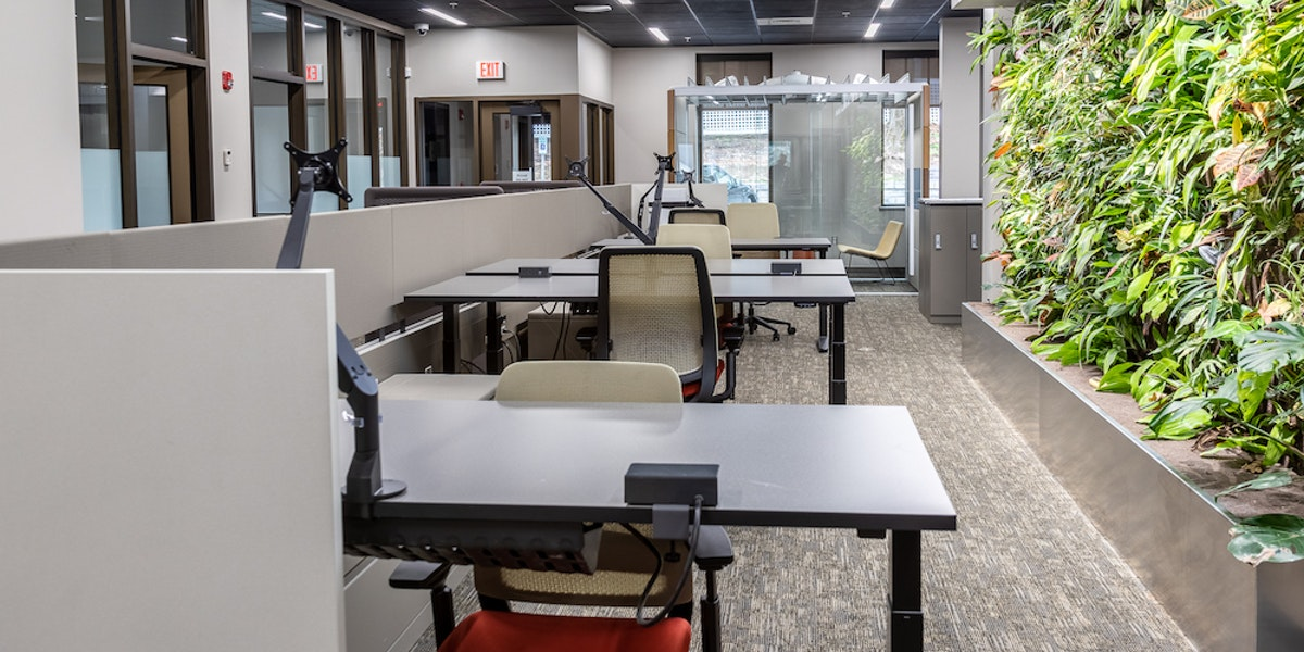 Photo of Co-Working Desk - First Floor