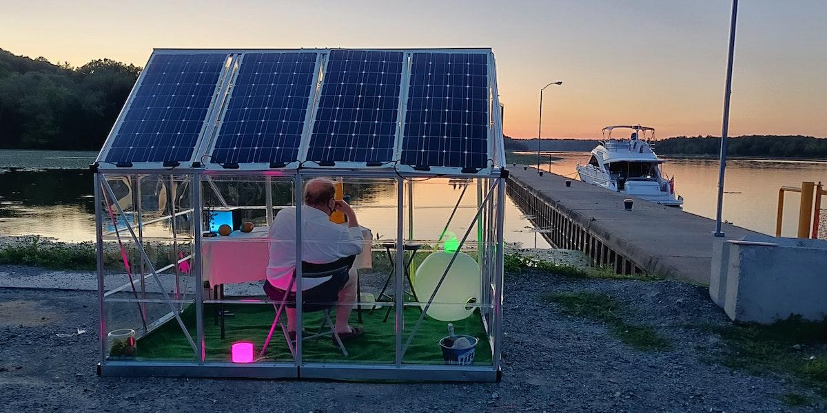 Photo of Privé SolarFi Pod
