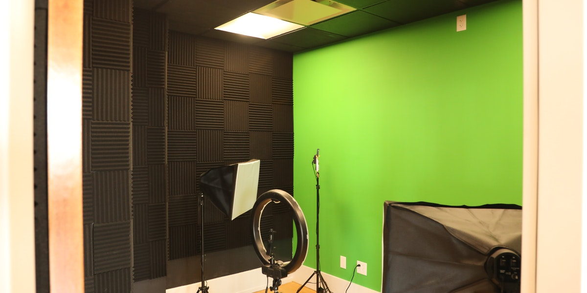 Photo of Sound & Video Booth