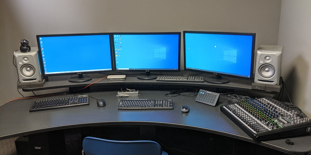 Photo of Control Room for Broadcasting / Livestreaming