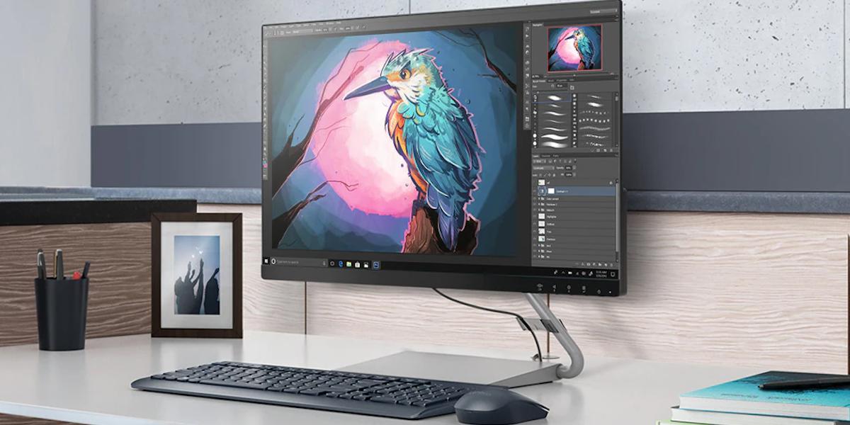 "Photo of 24"" Computer monitor"