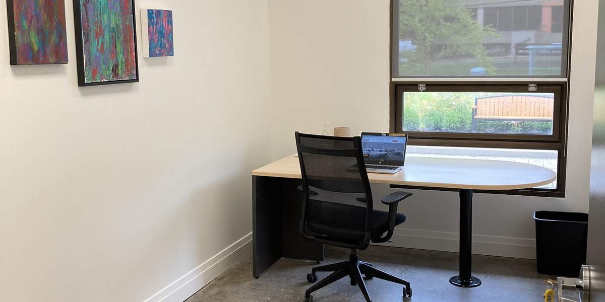 """Photo of """"THE 6IX"""" Small Meeting Room DAILY: (full day, 8 hours) - seats 3"""